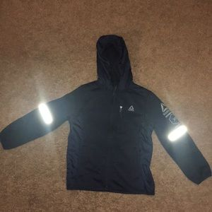 Reebok boys zip-up sweatshirt with hood